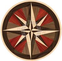 "Stella Compass Wenge w/ Border 28"""