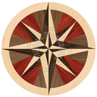 Stella Compass Maple 48""