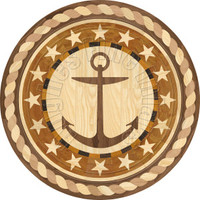 "36"" Anchor Medallion"