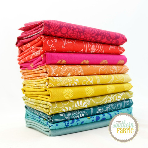 Alison Glass Half Yard Bundle (10 pcs) by Alison Glass for Andover (AG.10HY)