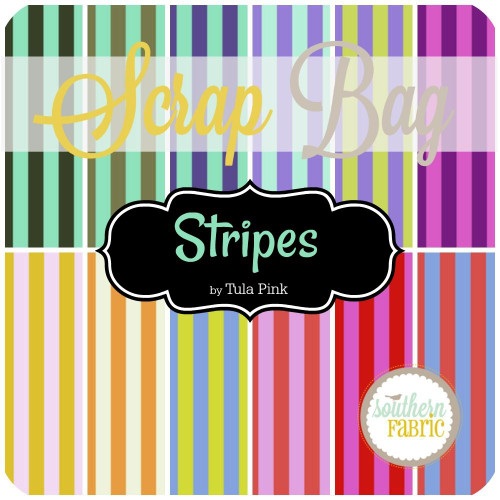Stripes Scrap Bag (approx 2 yards) by Tula Pink for Free Spirit (TP.STR.SB)