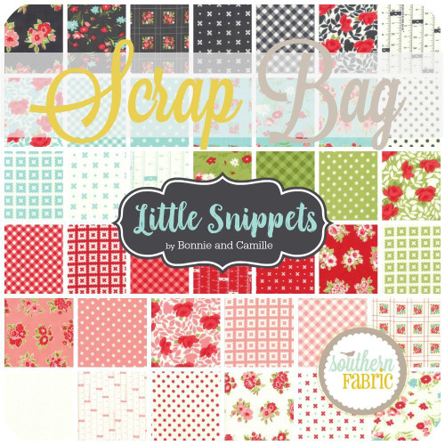 Little Snippets Scrap Bag (approx 2 yards) by Bonnie and Camille for Moda (BC.LS.10SB)