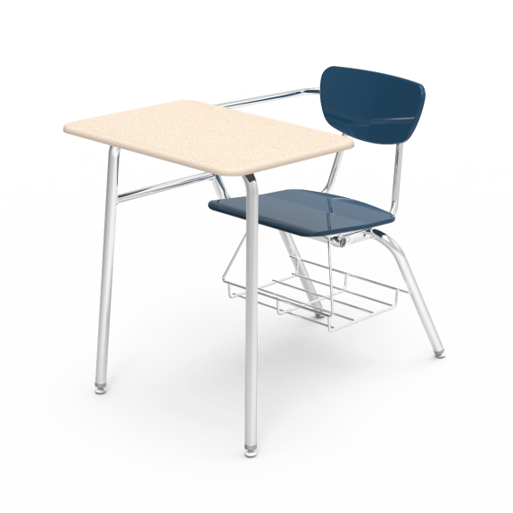 Sensational Virco 3000 Series Classroom Combo Chair Desk 3400Brm 2 Pack Gmtry Best Dining Table And Chair Ideas Images Gmtryco