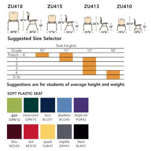 Super Virco Zuma Classroom Stackable Chairs 15 Inch Seat Height Zu415 5 Pack Bralicious Painted Fabric Chair Ideas Braliciousco