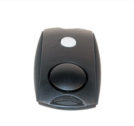 Black Mini Personal Alarm with Beltclip