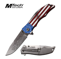 We The People American Flag Spring Assisted knife