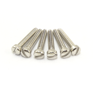 "5-40 X 1 1/4"" Nickel Plated Fillister Head Screw"