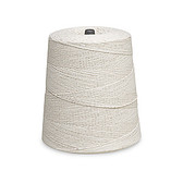 8 Ply White Cotton Pickup Coil String