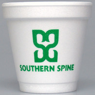 Personalized 4 oz. Foam Cups (Set of 50)