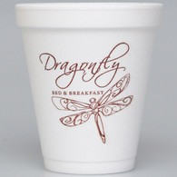 Personalized 8 oz. Foam Cups (Set of 50)