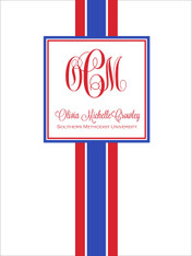 *Sorority Recruitment Packet - Preppy (Set of 12)