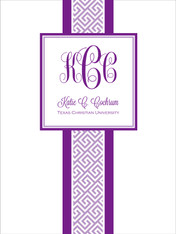 Preppy - Greek Key - Recruitment Folder (more colors)