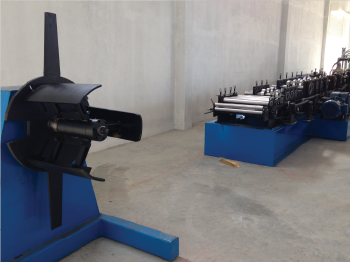 ROLL FORMING MACHINE FOR C&Z PURLIN