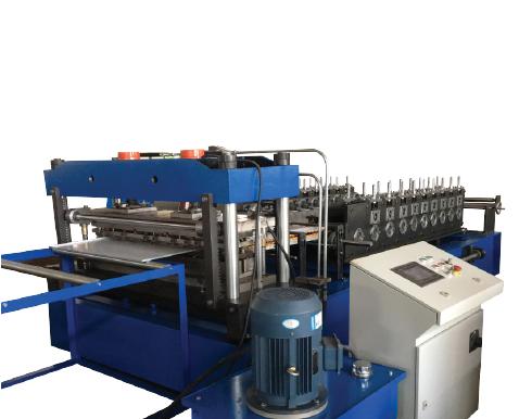 SHELF PRODUCTION ROLL FORMING MACHINE