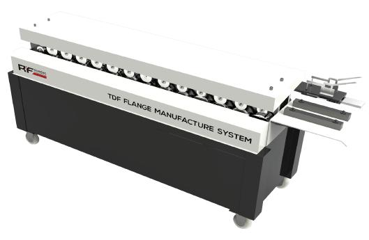 T-12- TDF Flange Forms Machine