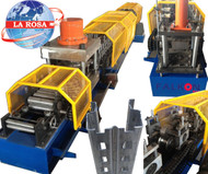 UPRIGHT PROFILE ROLL FORMING MACHINE