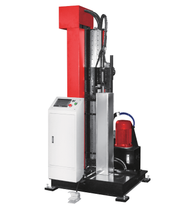 HYDRAULIC SEAM LOCK MACHINE VERTICAL TYPE
