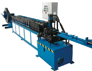 C/W. PUNCHING  - FIRE DAMPER BLADE ROLL FORMING MACHINE