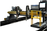 GSII-4000GD-SERIES — GANTRY TYPE CNC PLASMA/FLAME CUTTING MACHINE