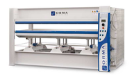 NPC DIGIT 6/110 (120 TON)-HOT HYDRAULIC PRESS DIGIT WITH 1 INTERMEDIATE PLATENS MADE IN ITALY BY ORMA-LAROSA