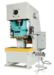 F21 - SERIES - OPEN BACK POWER PRESS WITH DRY CLUTCH AND SHEARING BLOCK PROTECTOR