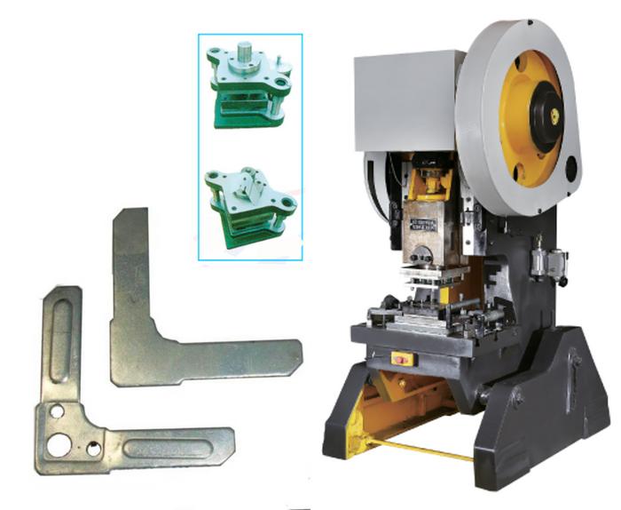 power press J-23 c/w. TDC corner mould