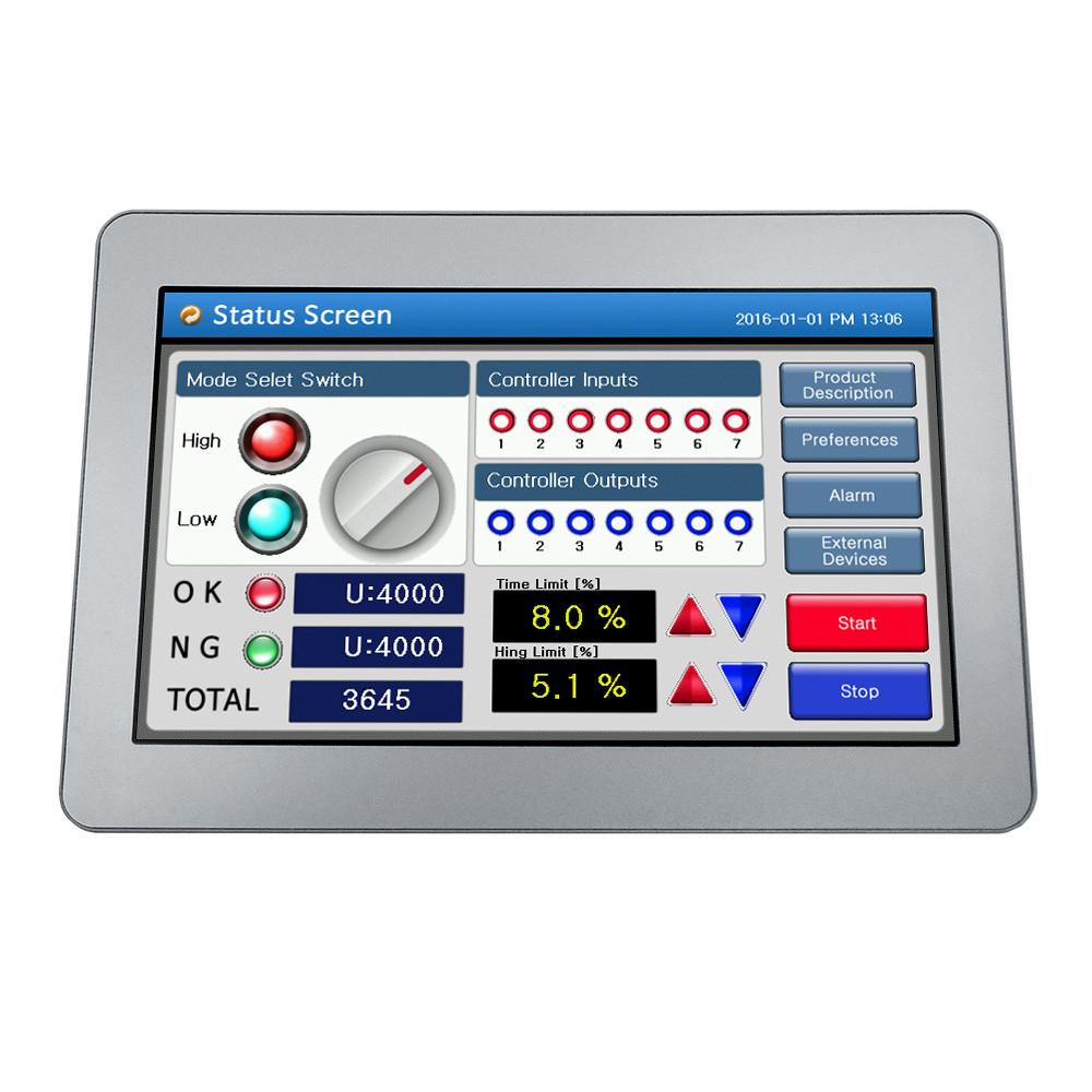 human machine interface hmi 7 water resistant panel pc