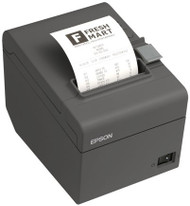 Epson TM-T20II Readyprint Thermal Receipt Printer, Dark Gray, USB