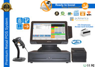 "Premium Service Station POS System With 10.4"" Color LCD Media Display"