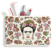 Frida Kahlo make up and pencil pouch bag