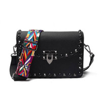 Guitar Strap Studded Bag