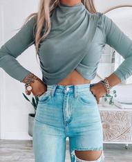 Miami Crop Sweater