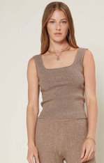 Sweater weather nude tank