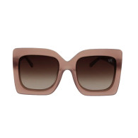 Magestic Blush  Oversized Sunglasses