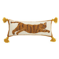 Justina Blakeney Tiger print tassel pillow