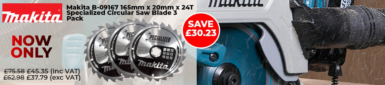 Makita specialised circular saw blade 3 pack