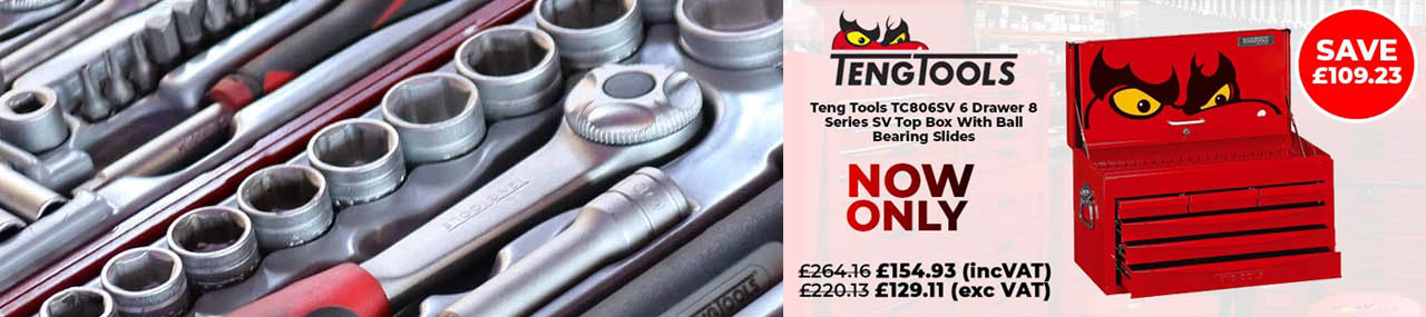 Teng Tools TC806SV 6 Drawer 8 Series Box