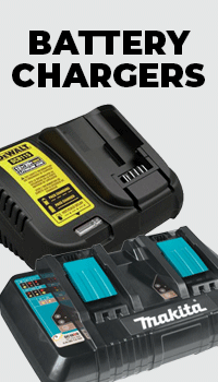 Makita branded batteries and chargers