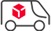 shipping car icon