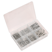 Sealey AB002RC R-Clip Assortment 150pc
