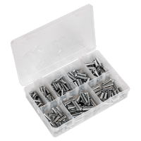 Sealey AB019CP Clevis Pin Assortment 200pc - Imperial