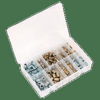 Sealey AB068BPN Brake Pipe Nut Assortment 200pc - Metric & Imperial