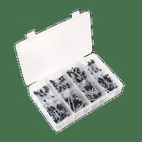 Sealey AB074BR Rivet Assortment 200pc Black Anodised