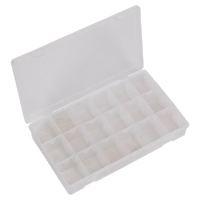 Sealey ABBOXLAR Assortment Box with 12 Removable Dividers