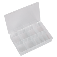 Sealey ABBOXMED Assortment Box with 8 Removable Dividers