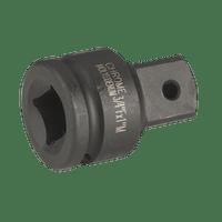 """Sealey AK5404   Impact Adaptor 3/4""""Sq Drive Female - 1""""Sq Drive Male"""