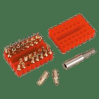 Sealey AK614   Security Bit & Magnetic Adaptor Set 33pc