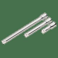 """Sealey AK6350   Extension Bar Set 3pc 1/2""""Sq Drive"""