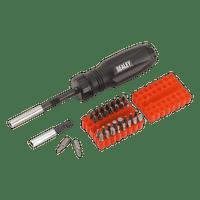 Sealey AK6498 Gearless Ratchet Screwdriver Set 34pc