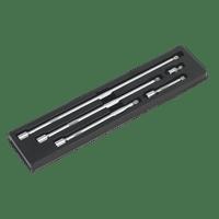 """Sealey AK768   Wobble Extension Bar Set 5pc 1/2""""Sq Drive"""